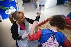 Helper in a special school,