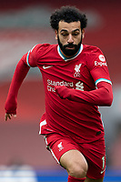 Football - 2020 / 2021 Premier League - Liverpool vs Fulham - Anfield<br /> <br /> Liverpool FC's Mohamed Salah in action during todays match  <br /> <br /> CreditCOLORSPORT/TERRY DONNELLY
