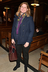 SARAH BROWN at a reception and debate to celebrate the publication of  'Women in Waiting, Prejudice at the the Heart of the Church' by Julia Ogilvy held at St.James's Church, 197 Piccadilly, London on 11th March 2014.