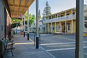 Main Street in downtown Sutter Creek, Amador County, California