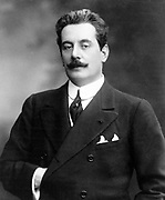 Giacomo Puccini (1858 –1924) Italian composer of operas, including La bohème, Tosca, Madama Butterfly and Turandot.