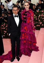 Rachel Brosnahan attending the Metropolitan Museum of Art Costume Institute Benefit Gala 2019 in New York, USA.