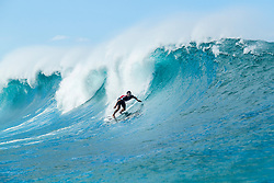 December 16, 2018 - Pupukea, Hawaii, U.S. - Connor O'Leary (AUS) advances to Round 3 of the 2018 Billabong Pipe Masters after winning Heat 11 of Round 2. (Credit Image: © Kelly Cestari/WSL via ZUMA Wire)