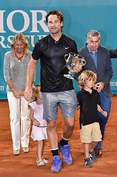 Carlos Moya beats John McEnroe in the final of the Senior Masters 2017. 30 Sep 2017 Pictured: Carlos Moya wins tennis legend John McEnroe in Senior Master Cup 2017 in Spain. Photo credit: MEGA TheMegaAgency.com +1 888 505 6342