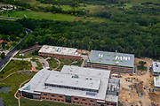 Aerial photograph of Promega Corporation, a world leader in biotechnology. Fitchburg, Wisconsion, USA.