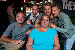 Family Bleeker during the third day of the beach volleyball event King of the Court at Jaarbeursplein on September 11, 2020 in Utrecht.