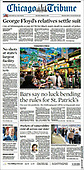 March 13, 2021 (USA): Front-page: Today's Newspapers In United States