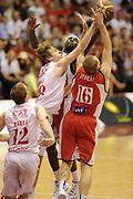 DESCRIZIONE : Milano  Lega A 2011-12 EA7 Emporio Armani Milano Scavolini Siviglia Pesaro play off semifinale gara 2<br /> GIOCATORE : Nicolo Melli<br /> CATEGORIA : controcampo rimbalzo<br /> SQUADRA : EA7 Emporio Armani Milano<br /> EVENTO : Campionato Lega A 2011-2012 Play off semifinale gara 2 <br /> GARA : EA7 Emporio Armani Milano Scavolini Siviglia Pesaro<br /> DATA : 31/05/2012<br /> SPORT : Pallacanestro <br /> AUTORE : Agenzia Ciamillo-Castoria/ GiulioCiamillo<br /> Galleria : Lega Basket A 2011-2012  <br /> Fotonotizia : Milano  Lega A 2011-12 EA7 Emporio Armani Milano Scavolini Siviglia Pesaro play off semifinale gara 2<br /> Predefinita :