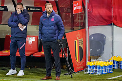 LEUVEN, BELGIUM - Sunday, November 15, 2020: England's head coach Gareth Southgate during the UEFA Nations League Group Stage League A Group 2 match between England and Belgium at Den Dreef. Belgium won 2-0. (Pic by Jeroen Meuwsen/Orange Pictures via Propaganda)