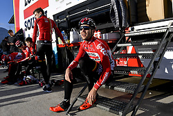 December 15, 2017 - Majorca, SPAIN - Belgian Maxime Monfort of Lotto Soudal pictured in action during a press day during Lotto-Soudal cycling team stage in Mallorca, Spain, ahead of the new cycling season, Friday 15 December 2017. BELGA PHOTO DIRK WAEM (Credit Image: © Dirk Waem/Belga via ZUMA Press)