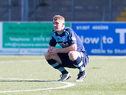 Forfar Athletic's Andrew Munro after the final whistle. Forfar Athletic 2 v 4 Annan Athletic, Scottish Football League Division Two game played 6/5/2017 at Station Park.