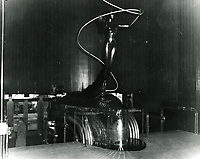 1948 Entry Statue at Earl Carroll Theater