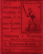 All Ireland Senior Hurling Championship Final,.02.11.1913, 11.02.1913, 2nd November 1913,.Tipperary 1-2, Kilkenny 2-4,.Senior Tipperary v Kilkenny, .Jones's Road Dublin, .02111913AISHCF,.