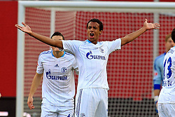 23.10.2011,  BayArena, Leverkusen, GER, 1.FBL, Bayer 04 Leverkusen vs Schalke 04, im Bild.Joel Matip (Schalke #32) sauer..// during the 1.FBL, Bayer Leverkusen vs Schalke 04 on 2011/10/23, BayArena, Leverkusen, Germany. EXPA Pictures © 2011, PhotoCredit: EXPA/ nph/  Mueller       ****** out of GER / CRO  / BEL ******