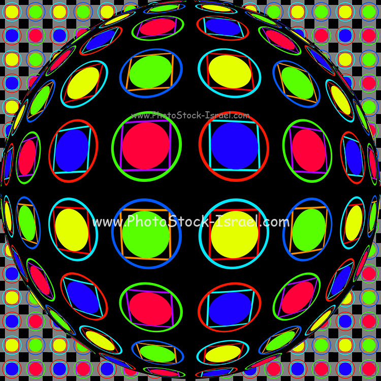 Op art, short for optical art, is a style of visual art that uses optical illusions. Op art works are abstract. Typically, they give the viewer the impression of movement, hidden images, flashing and vibrating patterns, or of swelling or warping.