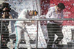 November 3, 2019, Austin, United States of America: Motorsports: FIA Formula One World Championship 2019, Grand Prix of United States, ..#44 Lewis Hamilton (GBR, Mercedes AMG Petronas Motorsport), James Allison (Mercedes AMG Petronas Motorsport) (Credit Image: © Hoch Zwei via ZUMA Wire)
