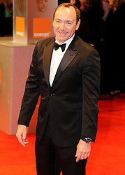 ©London News Pictures. 13/02/2011. Kevin Spacey Arriving at BAFTA Awards Ceremony Royal Opera House Covent Garden London on 13/02/2011. Photo credit should read: Peter Webb/London News Pictures