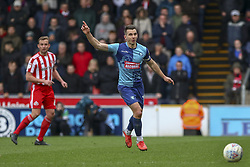 March 9, 2019 - High Wycombe, Buckinghamshire, United Kingdom - Wycombes captain Matt Bloomfield on his 500th club appearance during the Sky Bet League 1 match between Wycombe Wanderers and Sunderland at Adams Park, High Wycombe, England  on Saturday 9th March 2019. (Credit Image: © Mi News/NurPhoto via ZUMA Press)