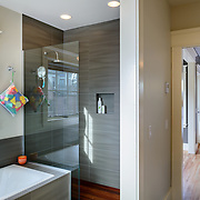 Home designed and built by Axiom Design Build in Seattle, WA