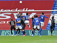Football - 2019 / 2020 Championship - Cardiff City vs Charlton Athletic<br /> <br /> Dillon Phillips of Charlton clears a cardiff attack , at the Cardiff City Stadium.<br /> <br /> COLORSPORT/WINSTON BYNORTH