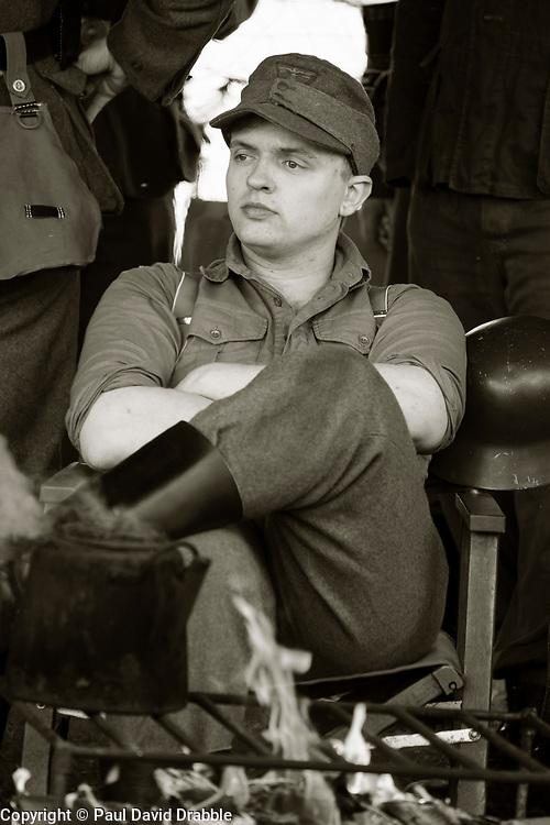 Heer living History camp second world war reenactment  Nww2A Fort Paull<br /> <br />  Copyright Paul David Drabble<br /> 5th & 6th May 2019<br />  www.pauldaviddrabble.co.uk