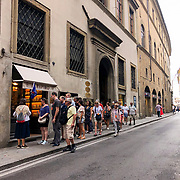 Street life in Florence.