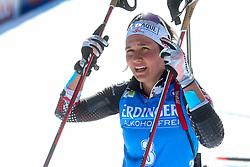 Dunja Zdouc of Austria competes during the IBU World Championships Biathlon 15km Individual Women competition on February 16, 2021 in Pokljuka, Slovenia. Photo by Primoz Lovric / Sportida