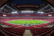A general view inside Wembley Stadium prior to the UEFA European 2020 Qualifier match between England and Czech Republic at Wembley Stadium, London, England on 22 March 2019.