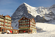 Hotel Desalpes - Kleiner Scheidegg - Swiss Alps .<br /> <br /> Visit our SWITZERLAND  & ALPS PHOTO COLLECTIONS for more  photos  to browse of  download or buy as prints https://funkystock.photoshelter.com/gallery-collection/Pictures-Images-of-Switzerland-Photos-of-Swiss-Alps-Landmark-Sites/C0000DPgRJMSrQ3U