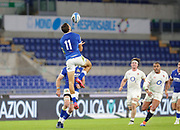 Mattia Bellini (Italy) during the Guinness Six Nations 2020, rugby union match between Italy and England on October 31, 2020 at the Stadio Olimpico in Rome, Italy - Photo Luigi Mariani / LM / ProSportsImages / DPPI