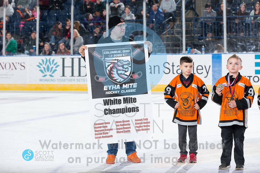 The Youngstown Phantoms lose 5-1 to the Waterloo Black Hawks at the Covelli Centre on February 29, 2020.