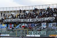 Livorno 11-12-2005<br /> Livorno Lazio<br /> Campionato  Serie A Tim 2005-2006<br /> nella  foto tifosi<br /> Foto Snapshot / Graffiti