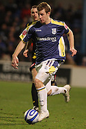 Paul Parry of Cardiff City. Coca Cola championship, Cardiff City v QPR match at Ninian Park in Cardiff on Wed 25th Feb 2009. pic by Andrew Orchard, Andrew Orchard sports photography.