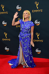September 18, 2016 - Los Angeles, California, United States - Jane Krakowski arrives at the 68th Annual Emmy Awards at the Microsoft Theater in Los Angeles, California on Sunday, September 18, 2016. (Credit Image: © Michael Owen Baker/Los Angeles Daily News via ZUMA Wire)