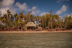 Shelter at Channel Beach, Turtle Island, Yasawa Islands, Fiji