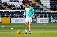Aston Villa midfielder Conor Hourihane (14) during the EFL Sky Bet Championship match between Fulham and Aston Villa at Craven Cottage, London, England on 17 February 2018. Picture by Andy Walter.
