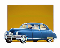 1948 was an amazing year for cars. The war was over. Americans were ready to buy automobiles again. This incredible sedan from that era is just one example of the optimism and boundless passion that Americans brought to building cars. It is a beautiful example of a great time in history. .<br /> <br /> BUY THIS PRINT AT<br /> <br /> FINE ART AMERICA<br /> ENGLISH<br /> https://janke.pixels.com/featured/packard-eight-sedan-1948-jan-keteleer.html<br /> <br /> WADM / OH MY PRINTS<br /> DUTCH / FRENCH / GERMAN<br /> https://www.werkaandemuur.nl/nl/shopwerk/Klassieke-auto---Oldtimer-Packard-Eight-Sedan-1948/435291/134