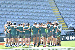 October 21, 2016 - Auckland, New Zealand - Australia Wallabies teams during the Australia Wallabies captain's run at Eden Park on October 21, 2016 in Auckland, New Zealand, ahead of the Third Bledisloe Cup test match against New Zealand on Oct 22. (Credit Image: © Shirley Kwok/Pacific Press via ZUMA Wire)