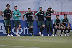 June 28, 2018 - Na - Kratovo, 06/28/2018 - The national soccer team trained this afternoon at the Saturn training center in Russia, where they are preparing for the first knockout game against Uruguay. José Fonte, Anthony Lopes, Raphael Guerreiro, Bruno Fernandes, Gelson, Mário Rui and Gonçalo Guedes  (Credit Image: © Atlantico Press via ZUMA Wire)