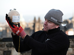 EDINBURGH'S HOGMANAY FIREWORKS SET UP, Thursday 29 December 2016<br /> <br /> The fireworks for Edinburgh's Hogmanay Party are set up at Edinburgh Castle<br /> <br /> (c) Alex Todd   Edinburgh Elite media