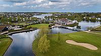 GOES - Golfbaan De Goese Golf vanuit de lucht. met clubhuis en omgeving, ,   op Zuid-Beveland, COPYRIGHT  KOEN SUYK