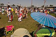 Crow Fair, Powwow, Grand Entry, Crow Indian Reservation, Montana.