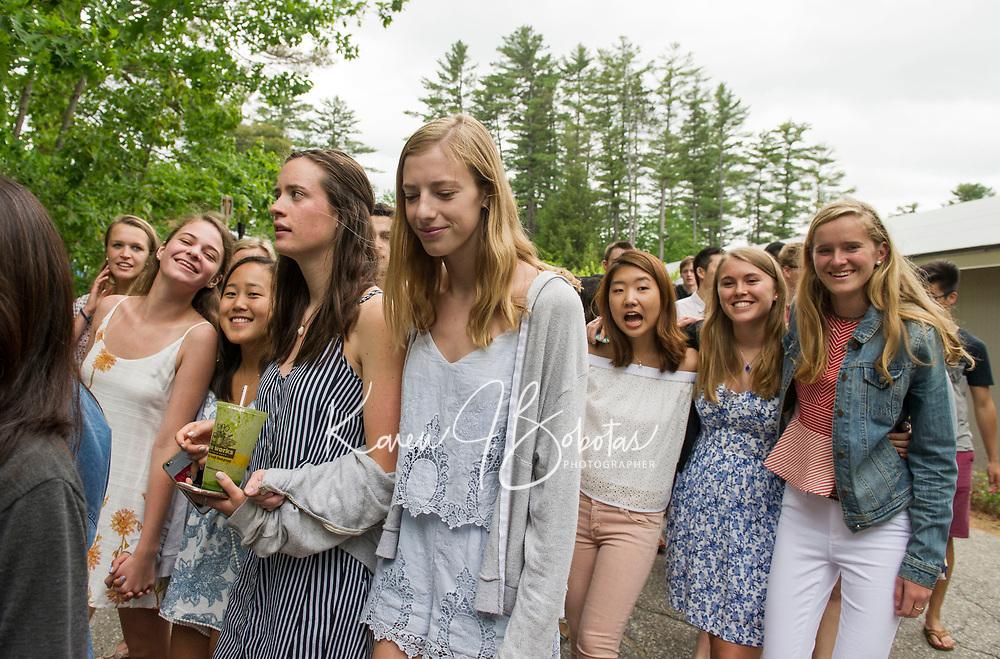St Paul's School Alumni Parade.  ©2017 Karen Bobotas Photographer