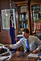 Victorian Premier Ted Baillieu after one year in office. Pic By Craig Sillitoe CSZ/The Sunday Age.21/11/2011 melbourne photographers, commercial photographers, industrial photographers, corporate photographer, architectural photographers, This photograph can be used for non commercial uses with attribution. Credit: Craig Sillitoe Photography / http://www.csillitoe.com<br /> <br /> It is protected under the Creative Commons Attribution-NonCommercial-ShareAlike 4.0 International License. To view a copy of this license, visit http://creativecommons.org/licenses/by-nc-sa/4.0/.