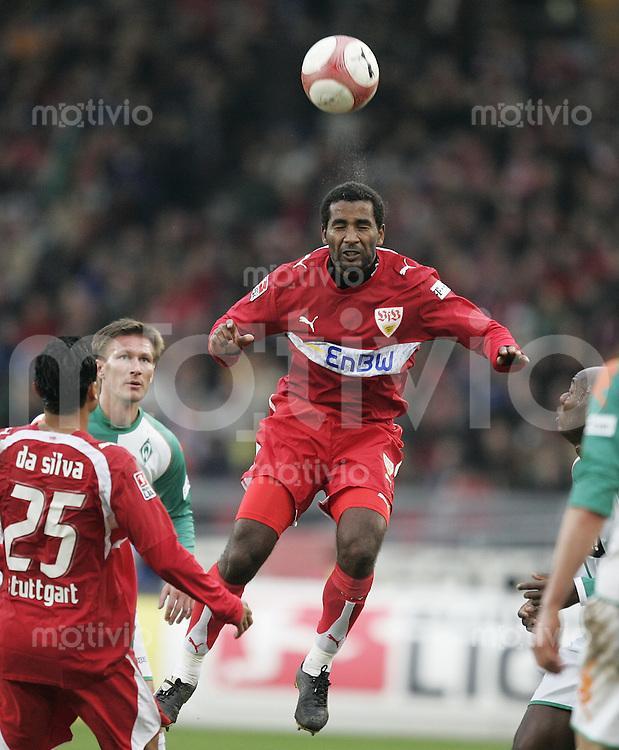 Fussball  1. Bundeslig in Stuttgart VfB Stuttgart - SV Werder Bremen  10.02.07  Cacau