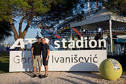 Final of singles at Plava Laguna Croatia Open Umag, on July 23, 2017 in Stadium Gorana Ivanisevica, Umag, Croatia. Photo by Urban Urbanc / Sportida