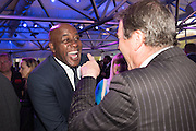 AINSLEY HARRIOTT; NIGEL MANSELL Preview for The London Motor Show, Battersea Evolution. London. 5 May 2016
