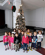 Ava's 5th birthday party at First United Methodist Preschool on Nov. 26, 2013 in Charlottesville, VA. Thank you to everyone for the gifts for Ava and especially to Yaretzi and her family for the lovely knitted hats. Photo/Andrew Shurtleff