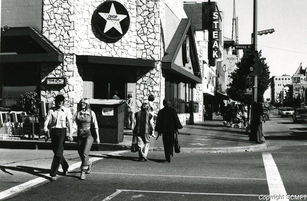 1979 House of Pies on NE corner of Hollywood Blvd. & Whitley Ave.