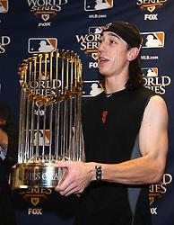 Tim Lincecum, 2010 World Series Champion Giants